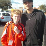 Mark Philippoussis and I at the Australian Open 2010.