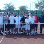 Here is the team and I in Spain.